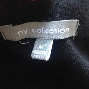 NY Collection Jackets & Coats - 3/$30 NY Collection Black Vegan Leather Jacket Med